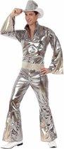 Zilver disco pak voor heren M/l