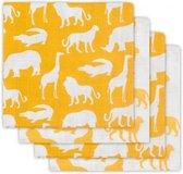 Jollein Safari Hydrofiel luier - 65x65 cm - ocher (4pack)