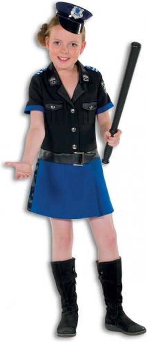 Politie jurkje deluxe voor meisjes 128