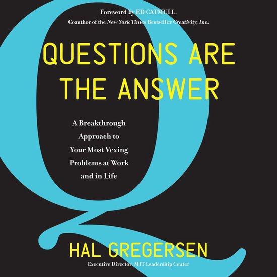 bol.com | Questions Are the Answer, Hal Gregersen | 9780062876966 | Boeken