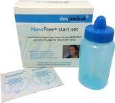NasoFree® neusdouche startset met 30 zakjes nasaal spoelzout