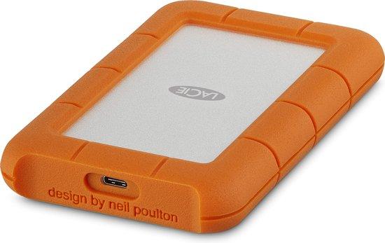LaCie Rugged USB-C 1TB Mobile Drive