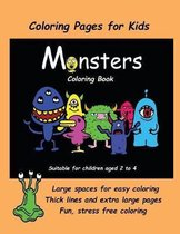 Coloring Pages for Kids (Monsters Coloring book)