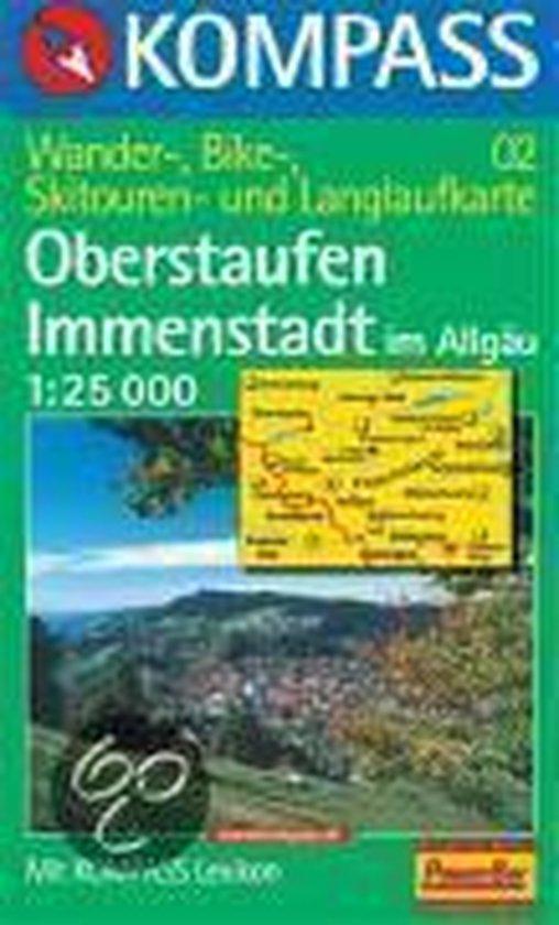 Cover van het boek '02: Oberstaufen - Immenstadt Im Allgau 1:25, 000'