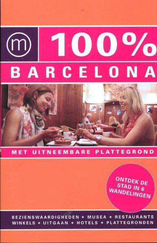 Cover van het boek '100% Barcelona / druk Heruitgave' van Annebeth Vis