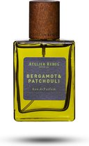 ATELIER REBUL Bergamot & Patchoeli 50 ml - Eau de Parfum - Herenparfum
