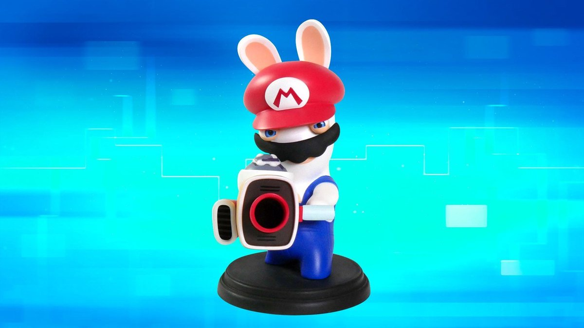 Mario + Rabbids Kingdom Battle Rabbid-Mario 6-inch - Figurine - Merkloos