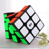 QIYI magic cube draaikubus breinbreker puzzel zwart - speed cube- sail
