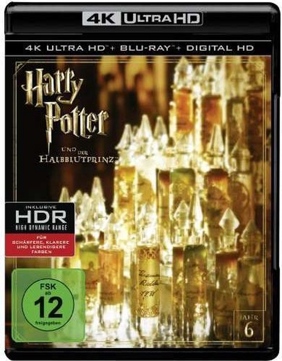 Harry Potter And The Half-Blood Prince (4K Ultra HD Blu-ray) (Import)-