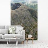 Het hoogste punt van de Ben Nevis in Schotland fotobehang vinyl breedte 215 cm x hoogte 320 cm - Foto print op behang (in 7 formaten beschikbaar)