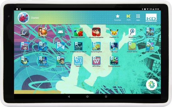 Kurio Tab XL - 10.1 inch - Kindertablet - 16GB - Wit