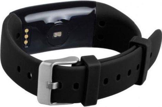 FEN Activity tracker - Hartslagmeter - Bloeddrukmeter - Slaaptracker - Kleurenscherm - Zwart