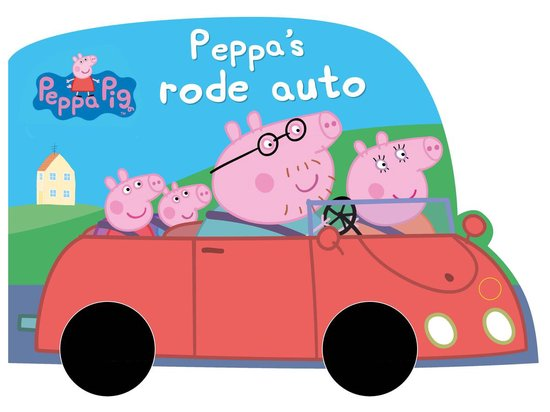 Peppa Big - Peppa's rode auto