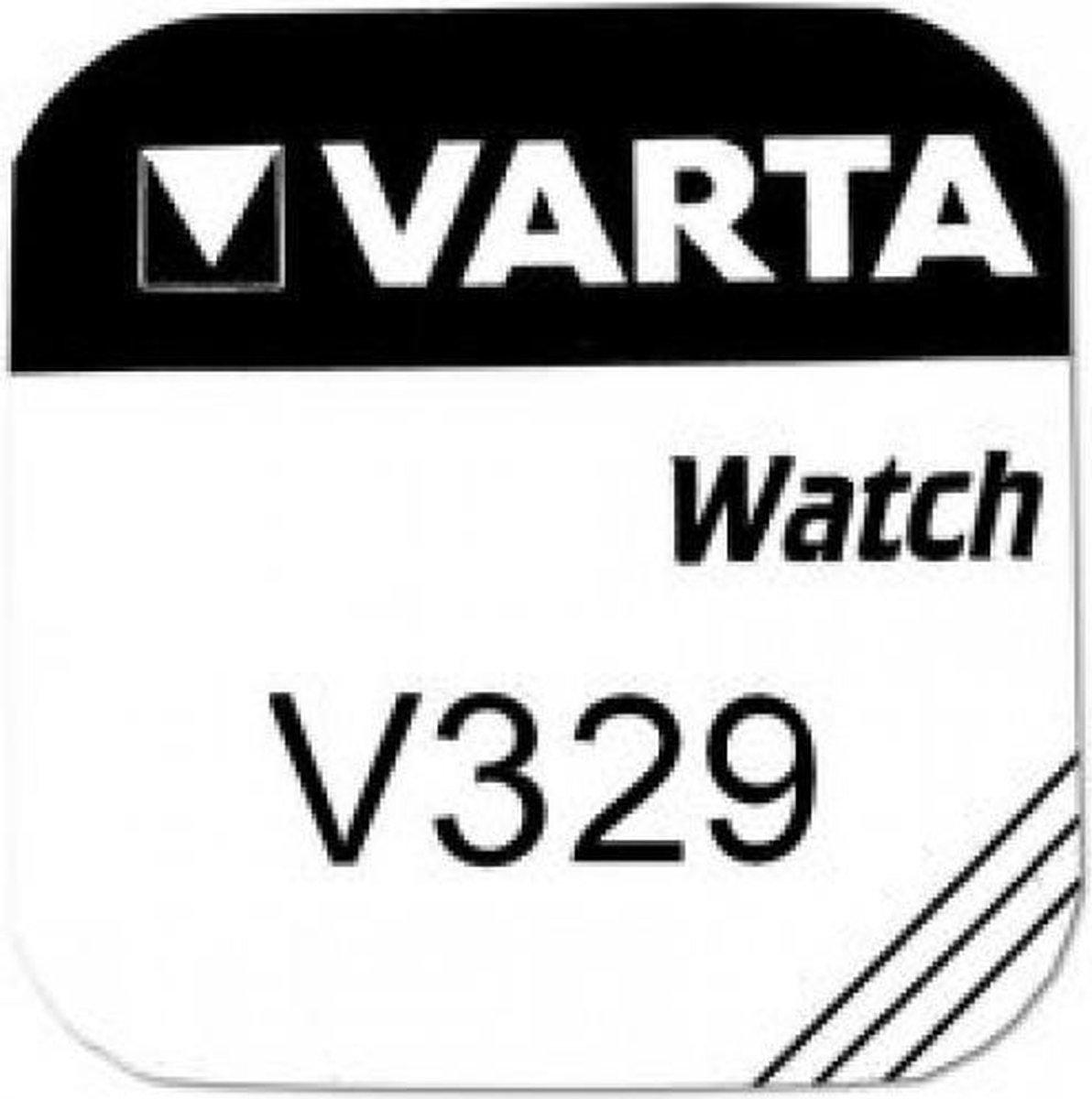 Varta horlogebatterij V329 zilveroxide - Varta