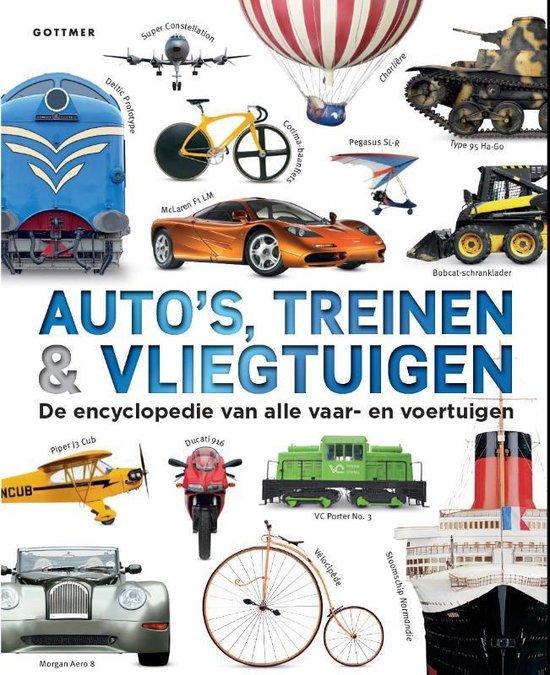 Auto's, treinen & vliegtuigen - Clive Gifford |