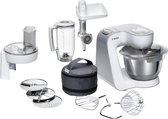 Bosch MUM5 Creationline MUM58231 - Keukenmachine - Wit Zilver