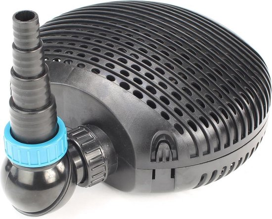 Aquaforte Vijverpomp 3500 liter/uur - Verbruik 16 watt - Droog en nat opstelbaar