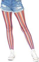 Leg Avenue Net panty Americana Multicolours
