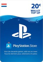 Waardekaart NL - 20 euro PlayStation Store tegoed - PSN Playstation Network Kaart (NL)
