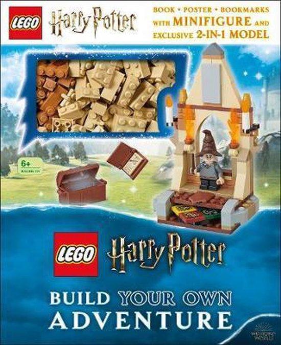 Boek cover LEGO Harry Potter Build Your Own Adventure van Elizabeth Dowsett (Hardcover)