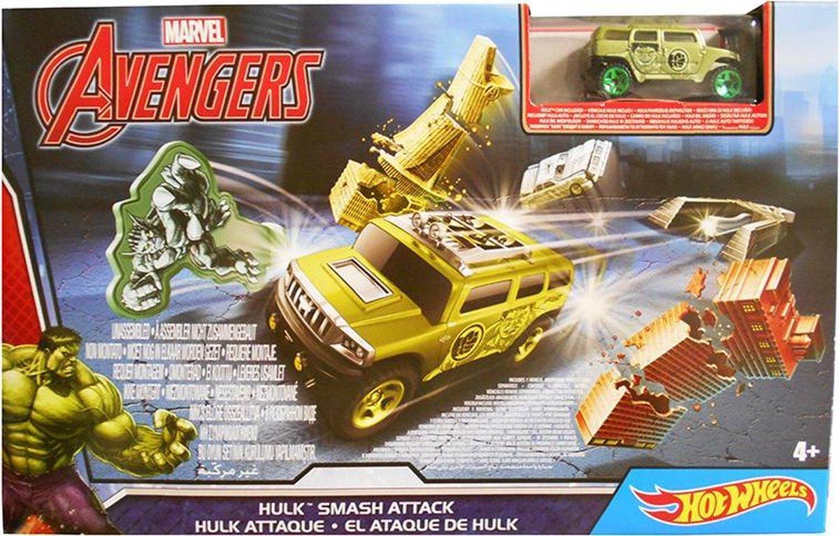 Hot Wheels marvel Avengers Hulk Smash Attack -