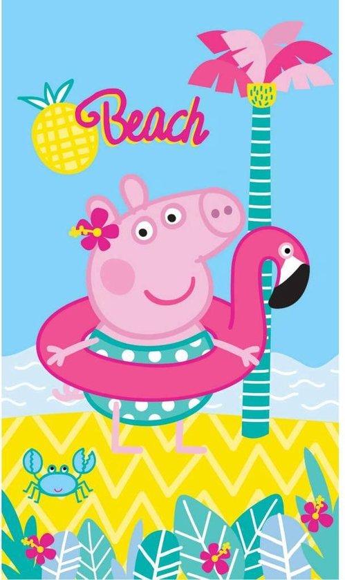 Peppa Pig Summer - Strandlaken - 70 x 120 cm - Multi