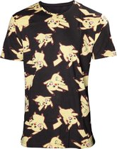 Pokemon - Mens allover print T-shirt - XS