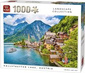 Afbeelding van King Puzzel 1000 Stukjes (68 x 49 cm) - Hallstaetter Lake - Legpuzzel - Landschap - Volwassenen