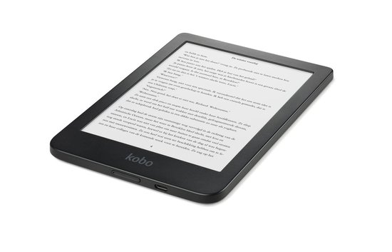 Kobo Clara HD - E-reader - Hoge resolutie display van 6 inch - 8 GB - Wifi - Zwart
