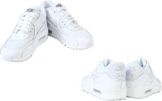Nike Air Max 90 Mesh GS Wit Kinder Sneaker 724824 100