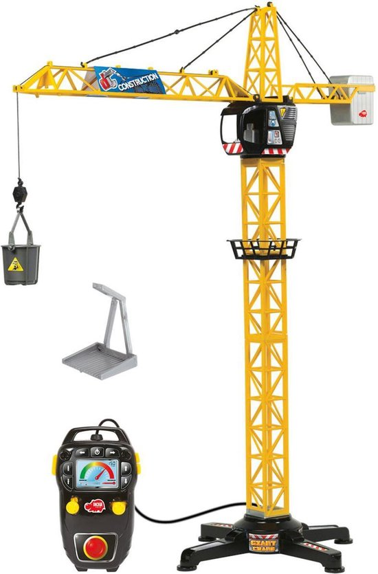 Afbeelding van Giant Constructie Kraan 100 cm - Speelgoedvoertuig speelgoed