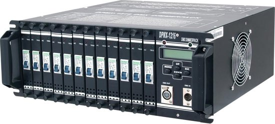 DPMX-1216 DMX Dimmer Pack