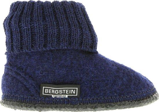 Bergstein Cozy Sloffen - Junior Unisex - Dark Blue - Maat 23