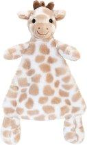 Keel Toys pluche tuttel giraf bruin giraffen babyknuffel 25 cm - knuffeldoekje knuffeldieren - Speelgoed voor kind