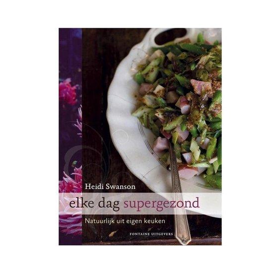 Cover van het boek 'Elke dag supergezond'