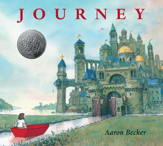 Boek cover Journey van Aaron Becker (Hardcover)