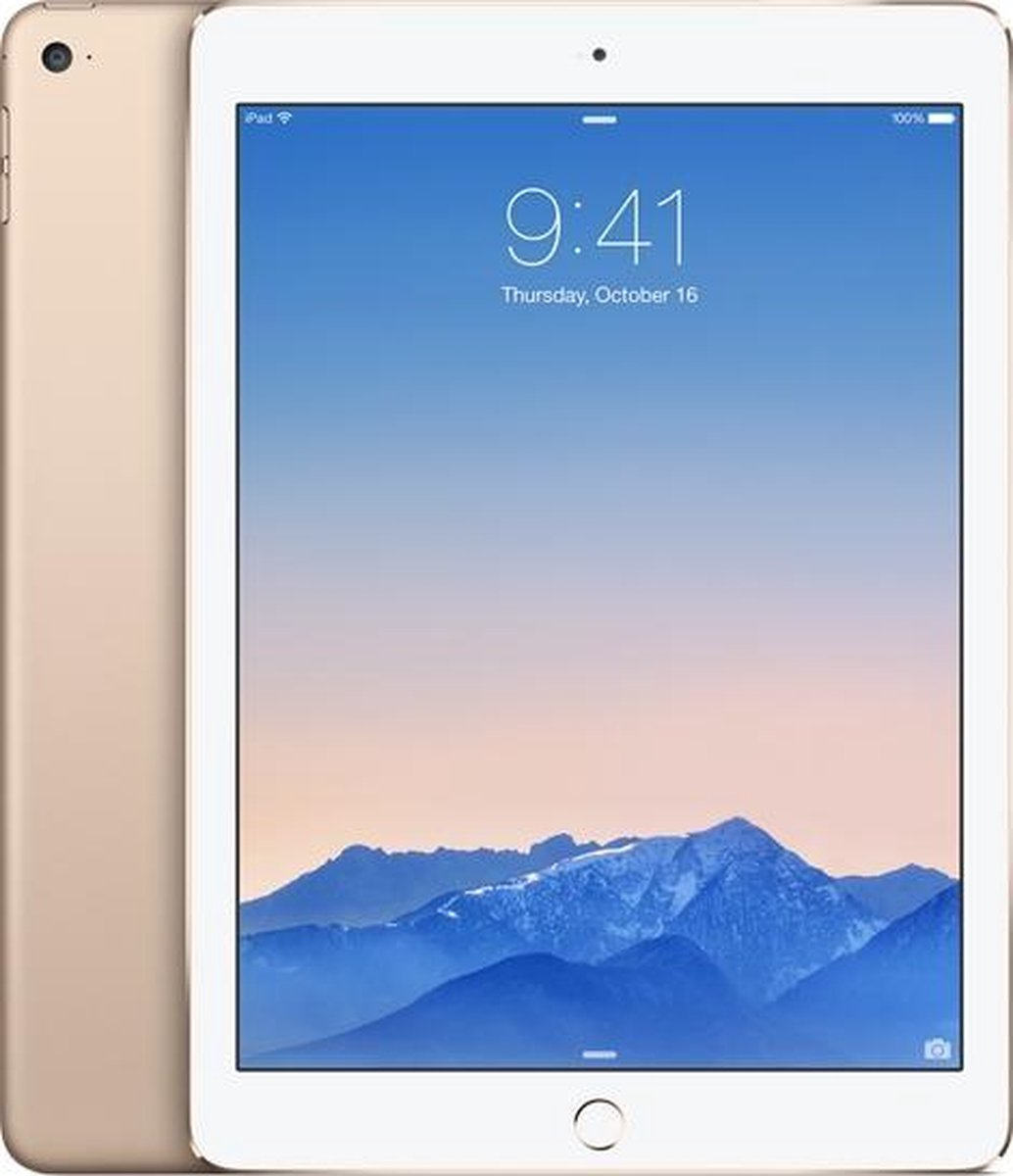 Forza Refurbished Apple iPad Air 2 16GB Goud Wifi only – A grade