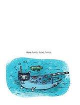 Here tuna, tuna, tuna. Cat Love Composition Book