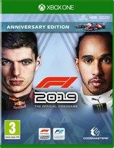 F1 2019 (Formule 1) Anniversary Edition - Xbox One