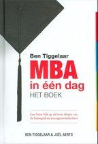 Afbeelding van MBA in één dag Het boek