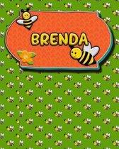 Handwriting Practice 120 Page Honey Bee Book Brenda