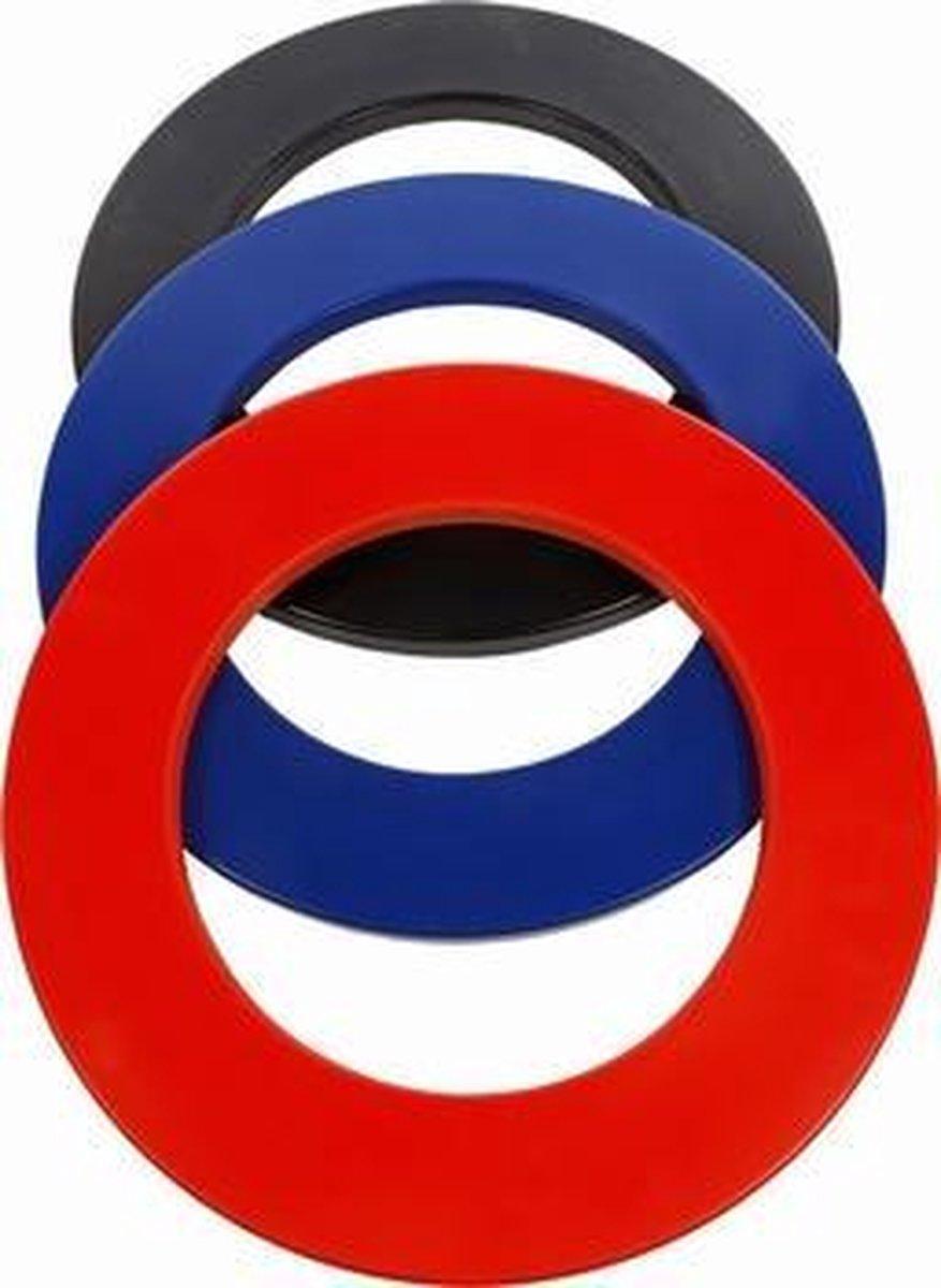Bull's Surround Ring Zwart Per stuk