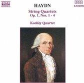 Haydn:String Quartets Op.1,1-4