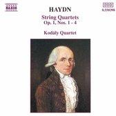 Haydn: String Quartets Op. 1, Nos. 1-4 / Kodaly Quartet