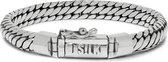 SILK Jewellery - Zilveren Armband - Bold - 349.21 - Maat 21