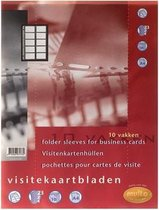 Showtas Speciaal A4 23-rings Visitekaarthoes Multo