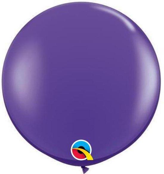 Megaballon Paars Violet 90 cm 2 stuks