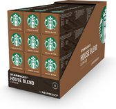Starbucks by Nespresso capsules House Blend Medium Roast - 12 doosjes à 10 koffiecups