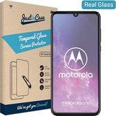 Just in Case Tempered Glass Motorola One Zoom Protector - Arc Edges