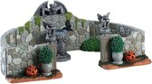 Lemax - Grey Gargoyle Gardens - Set Of 6